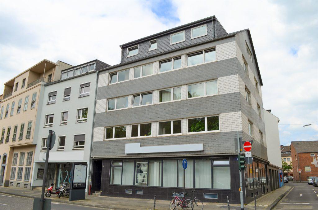 Mietverwaltung eines Wohn- und Geschäftshauses in Köln Altstadt.